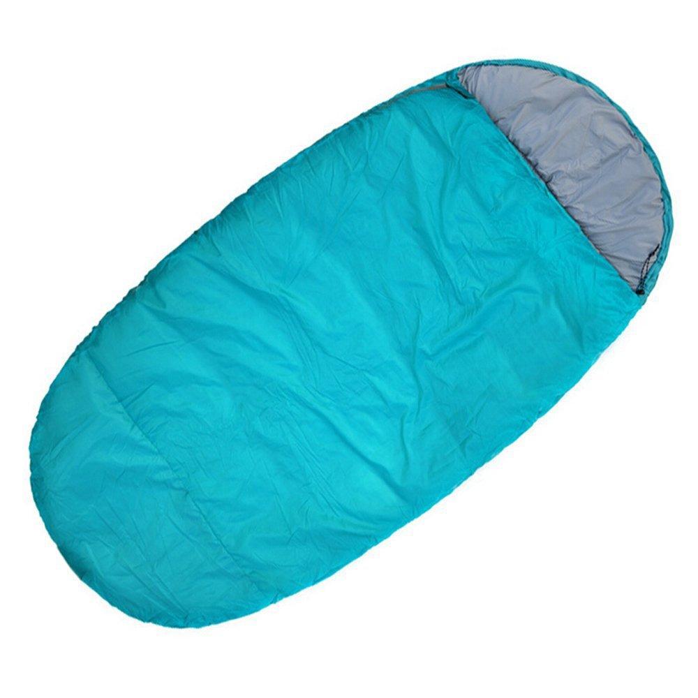 Camping Schlafsäcke, Frühling und Herbst und Winter Outdoor-Camping-Schlafsack zu halten warmen Frühling und den Herbst tragbaren Thermoschlafsack Mittagessen Erwachsene schlafen Torte (Farbe  blau) ,Schlafsack ( größe   Medium Thin Section 1.3KG )