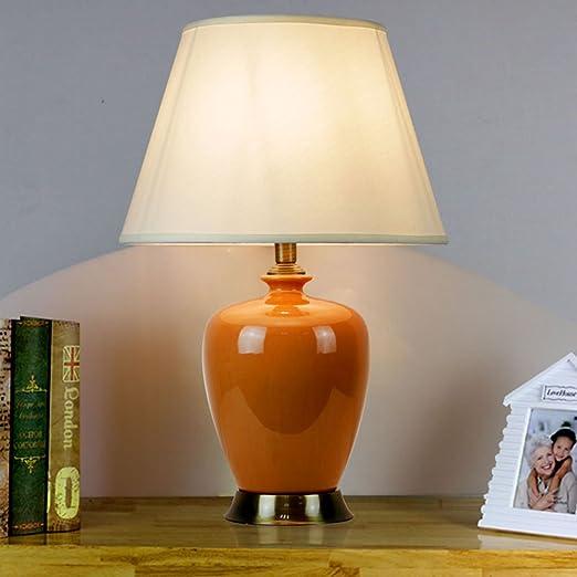 Yxx max *lampara Mesa Lámpara de Mesa Ovalada de cerámica, 4 ...