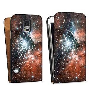 Diseño para Samsung Galaxy S5 DesignTasche black - Schlüsselloch-Nebel