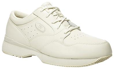 Propét Propet Men's Life Walker Medicare/HCPCS Code = A5500 Diabetic Shoe  Sport White Sneaker