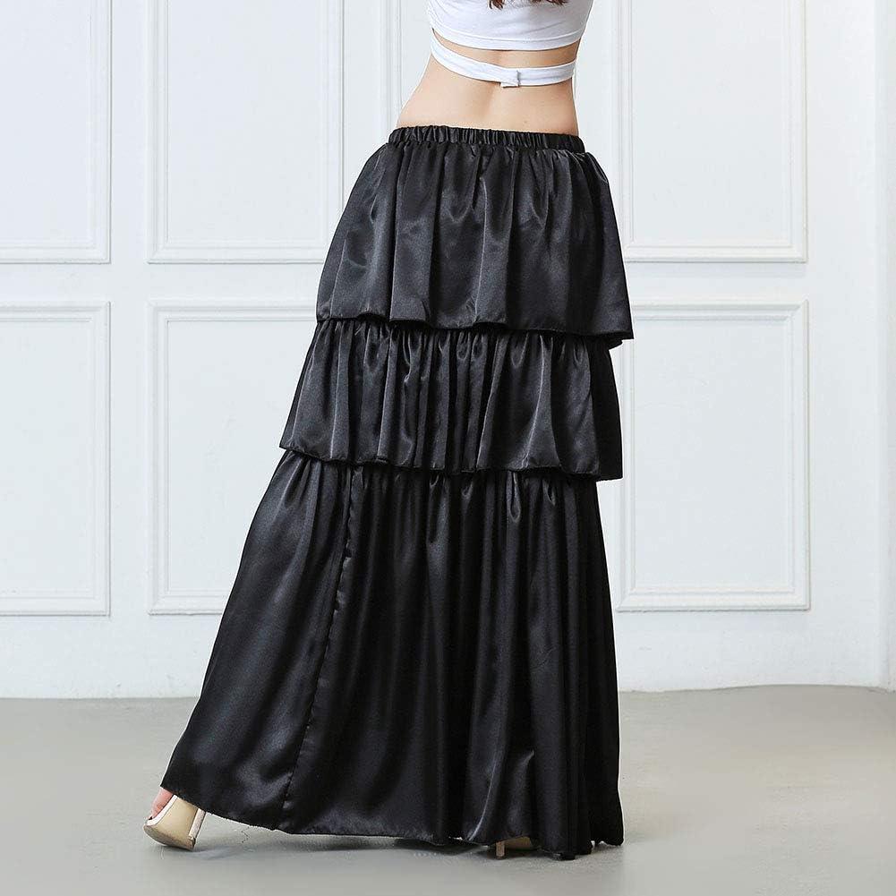 ROYAL SMEELA Faldas de Danza del Vientre para Mujer Falda Larga ...