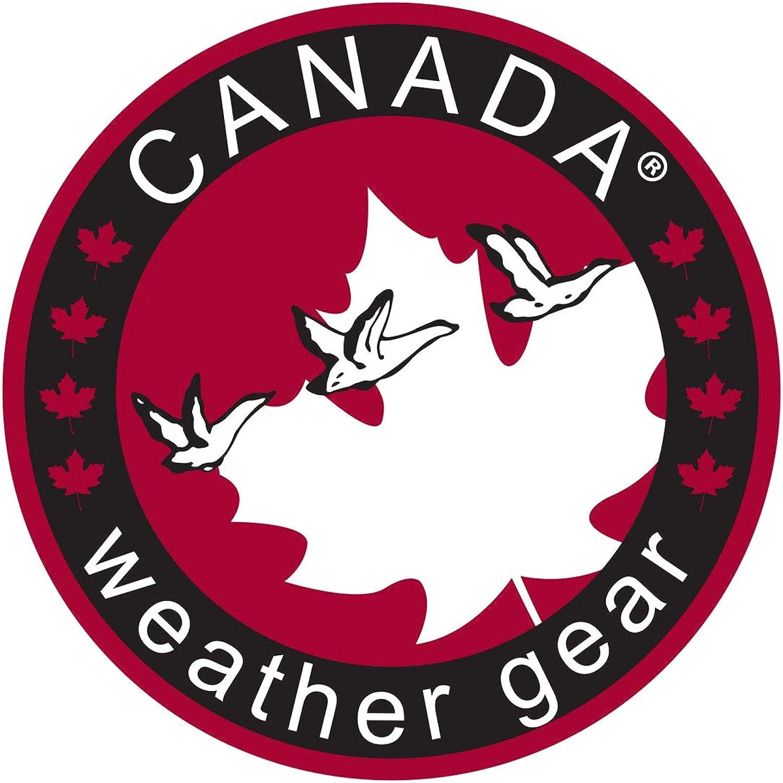 CANADA WEATHER GEAR Boys Heavyweight Bomber Parka Jacket with Faux Fur Hood