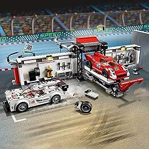 Li KererRacing Speed Champion Car Set Building Blocks Giocattoli per Bambini in Mattoni Compatibile Lego Riparazione… LEGO