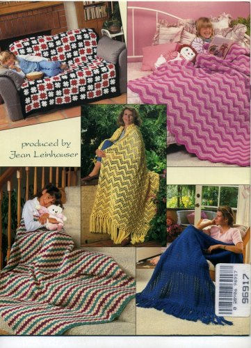 Easy Crocheted Afghans (1092) (Afghans Easy Crocheted)