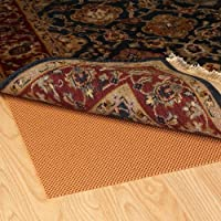 Grip-It Super Stop Cushioned Non-Slip Rug Pad for Rugs on Hard Surface Floors, 8 by 11-Feet