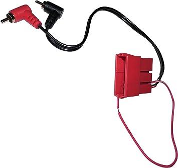 Aerzetix Mini Stecker Adapter Stecker Iso 2x Cinch Elektronik