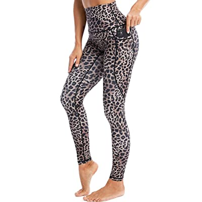 Womens Tummy Control Yoga Pants with Pockets 7//8 Length Workout Leggings for Women Butt Lift Workout Pants