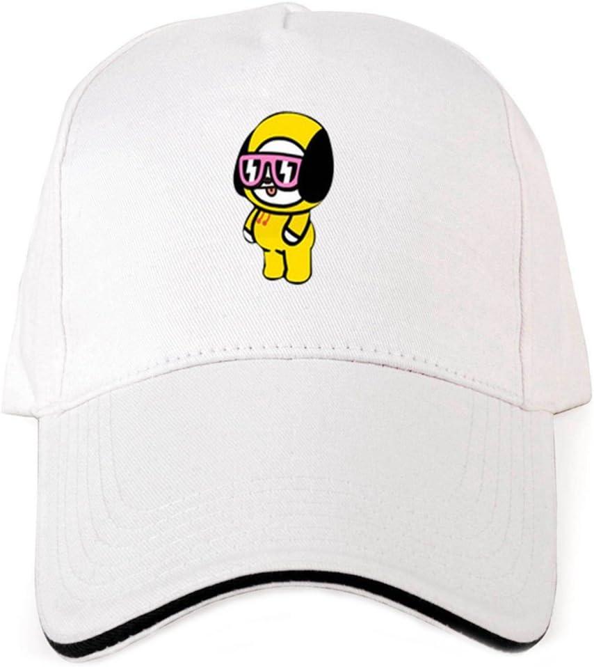 Skisneostype BTS Bangtan Gar/çons Casquette de Baseball R/églable D/écontract/é Sports Chapeau de Soleil Hip Hop Chapeau