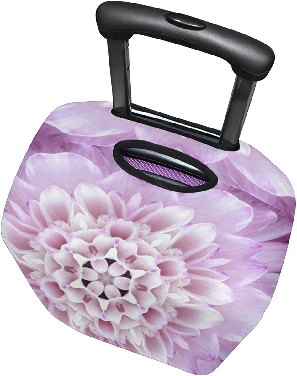 GIOVANIOR Bright Flower Luggage Cover Suitcase Protector Carry On Covers