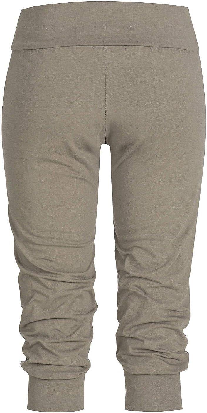 Styleboom Fashion® Fango - Pantalón Corto para Mujer, Color marrón ...