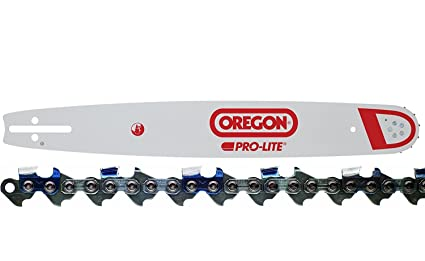 "Oregon 160SLHK095 16"" Chainsaw Bar +Oregon 72LGX060G Chainsaw Chain Loop Combo"