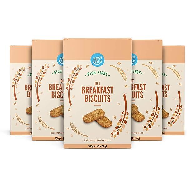 Marca Amazon - Happy Belly - Galletas Digestive sin azúcar, 6 x 400 g: Amazon.es: Alimentación y bebidas