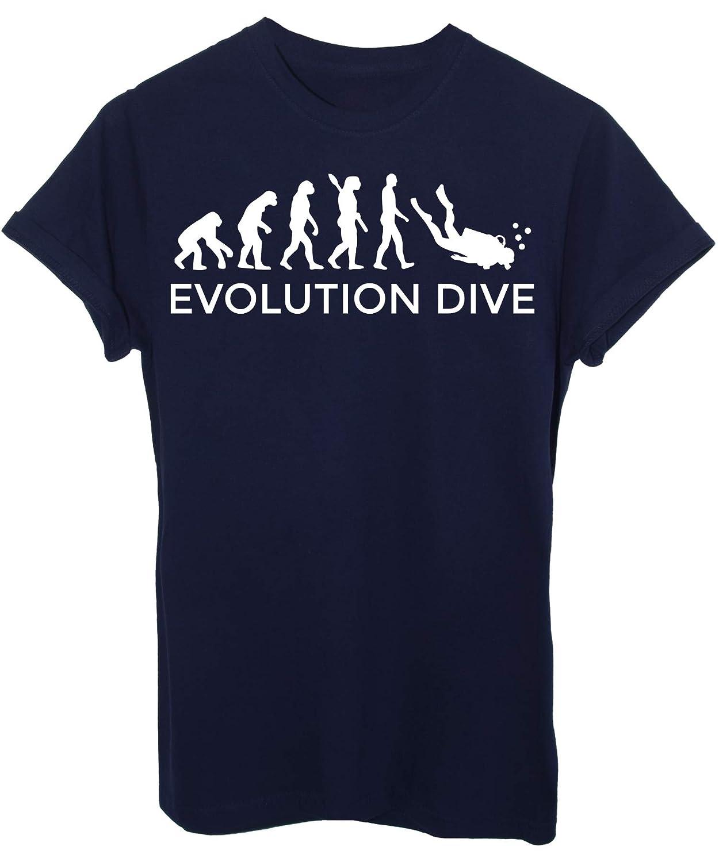 by Evolution IMAGE T-Shirt Evoluzione Sub Immersioni Dive Sport
