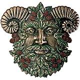 Greenman Summer Plaque Fantasy Designer Decoration Collectible