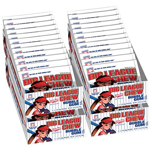 Big League Chew Female Softball Bulk Case 12 Packs Per Tray (4 Trays Total = 48 Packs) by Big League Chew (Image #3)