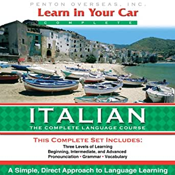 Learn In Your Car Italian The Complete Language Course