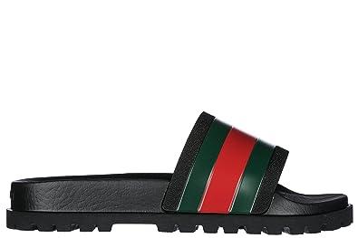 135567ad28ae Gucci Men s Ciabatte Uomo In gomma Nuovo Originale Fashion Sandals Size  9  UK