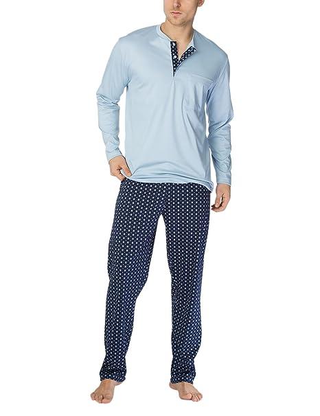 Calida Matt Herren Pyjama, Conjuntos de Pijama para Hombre: Amazon.es: Ropa y accesorios