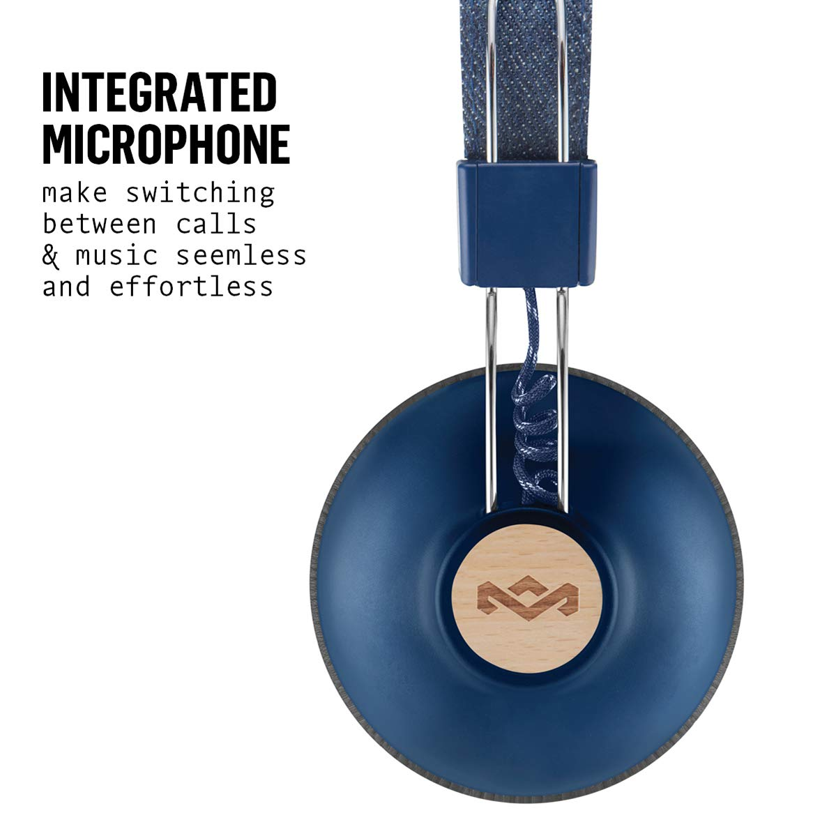 Amazon.com: House of Marley Positive Vibration 2 Wireless Bluetooth Over Ear Headphones: Electronics