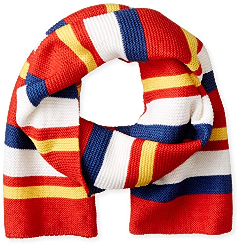 Marc by Marc Jacobs Women's Rory Who Scarf, Cambridge Red/Multi, One Size
