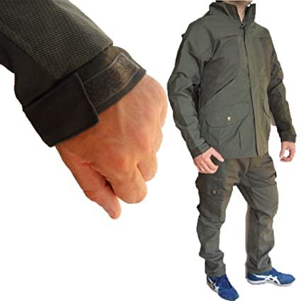 Giacca giubbino impermeabile antistrappo ignifugo abbigliamento caccia