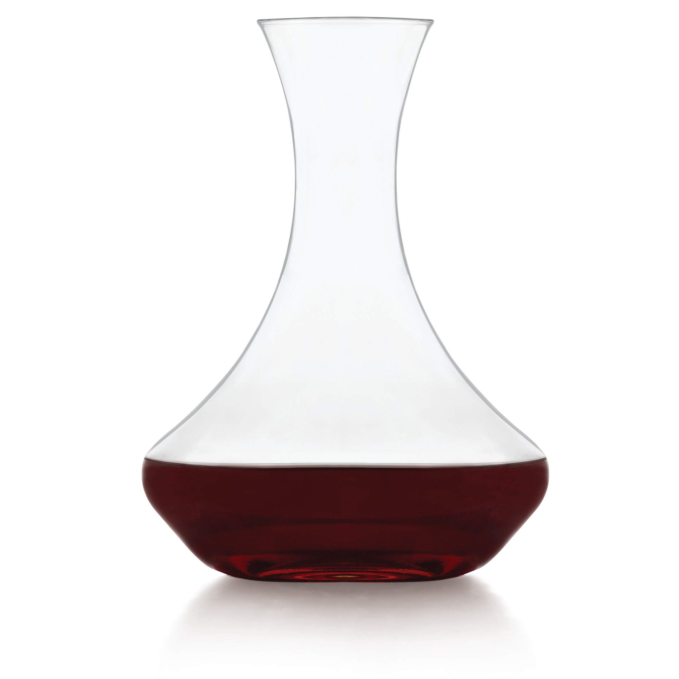 Libbey Vina 60-Ounce Contemporary Wine Decanter, Clear, 1-Piece