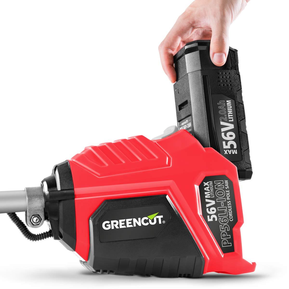 Greencut GM56LI-ION 4-1 - Herramienta multifunción desbrozadora ...