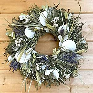 614OdxwZUHL._SS300_ 70+ Beach Christmas Wreaths and Nautical Wreaths