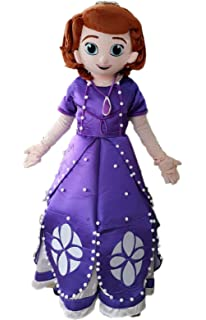 Amazon.com: Disfraz de princesa Sofia The First Mascot ...