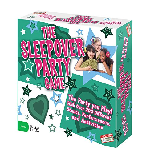 - Sleepover Party - The Party You Play - Activity Game for Kids Ages 8 and Up