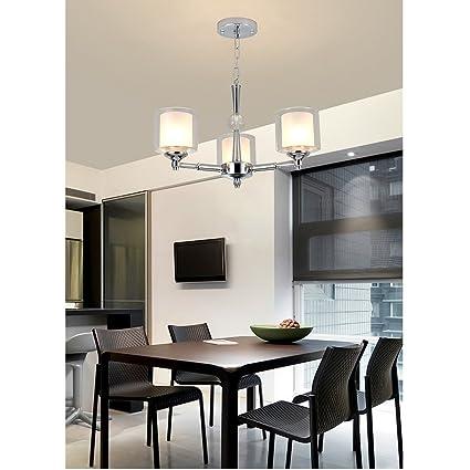 Amazon Chandelier Modern Minimalist Fashion Creative Mesmerizing Chandelier Size For Dining Room Minimalist