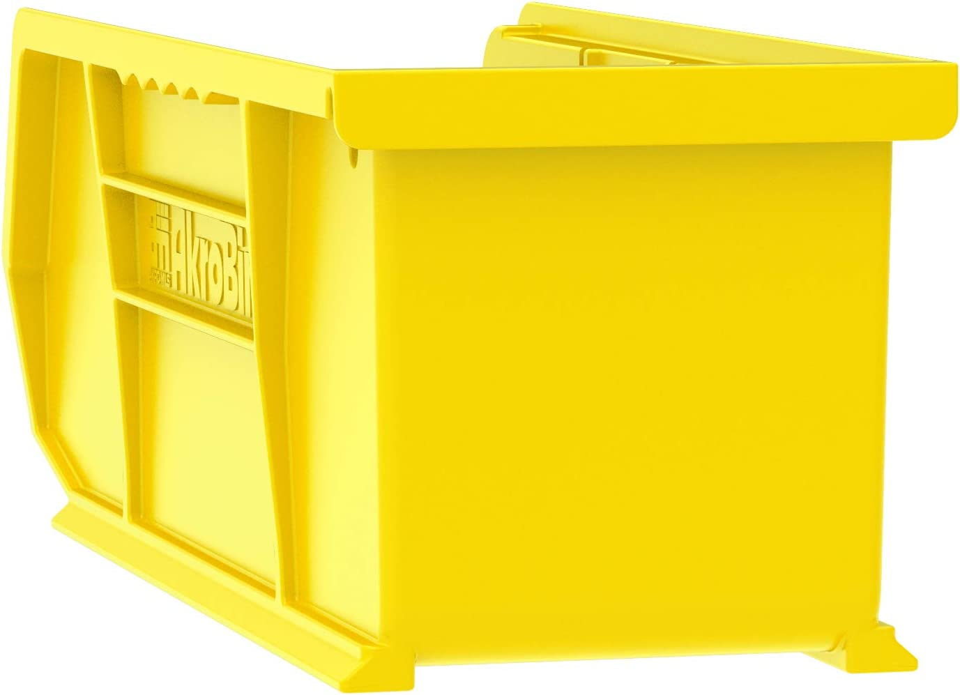 Stone 15-Inch by 5-Inch by 5-Inch Akro-Mils 30234 Plastic Storage Stacking Hanging Akro Bin 12-Pack