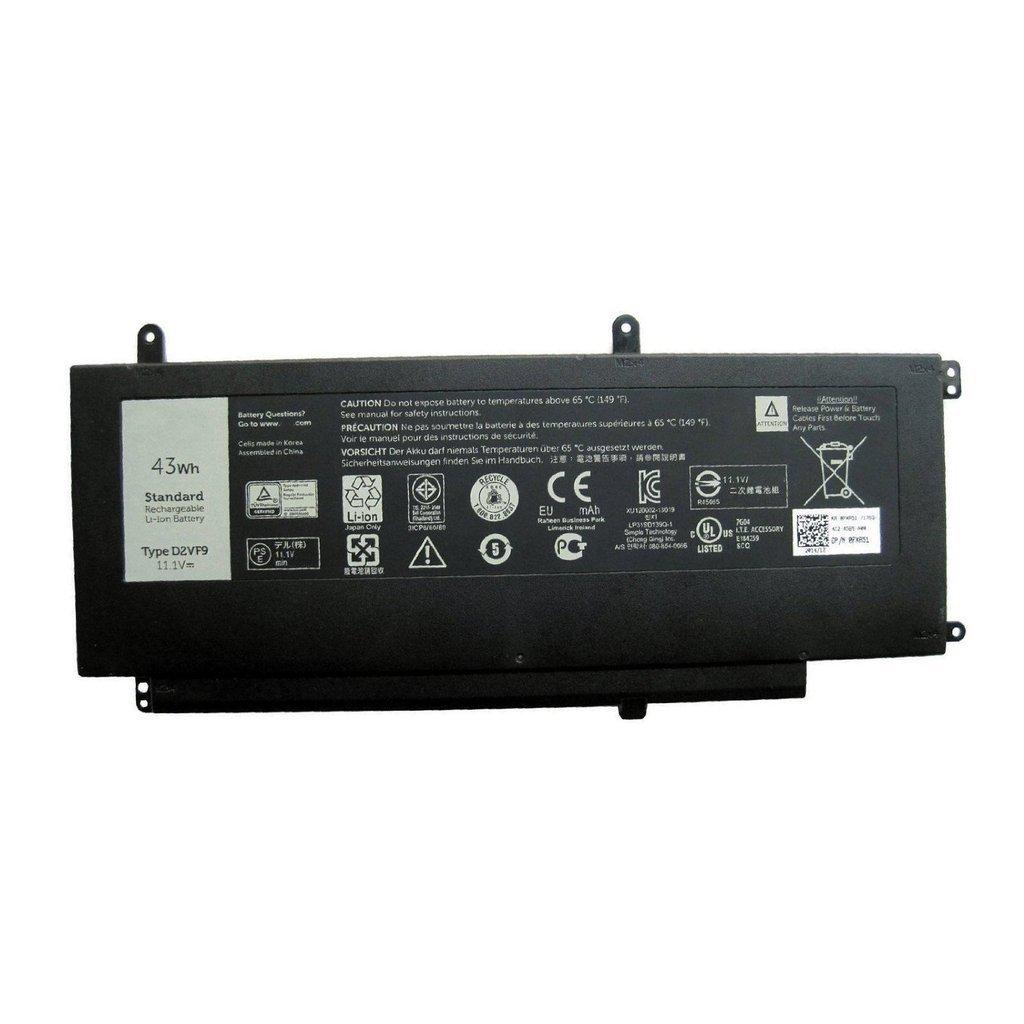 BPXbatería del ordenador portátil 11.1V 43Wh D2VF9 7547 Battery for Dell Inspiron 15 7547 D2VF9 0PXR51 63c8fb