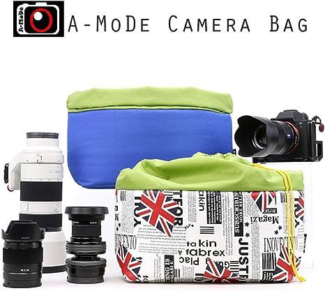 a-mode bolsa de cámara DSLR Inserto para mochila Universal funda ...