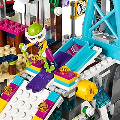 LEGO Friends Snow Resort Ski Lift 41324 Building Kit (585 Pieces): Toys & Games