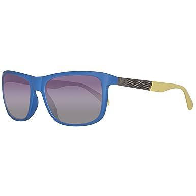 Guess Sonnenbrille GU6843 5791B Gafas de sol, Azul (Blau ...