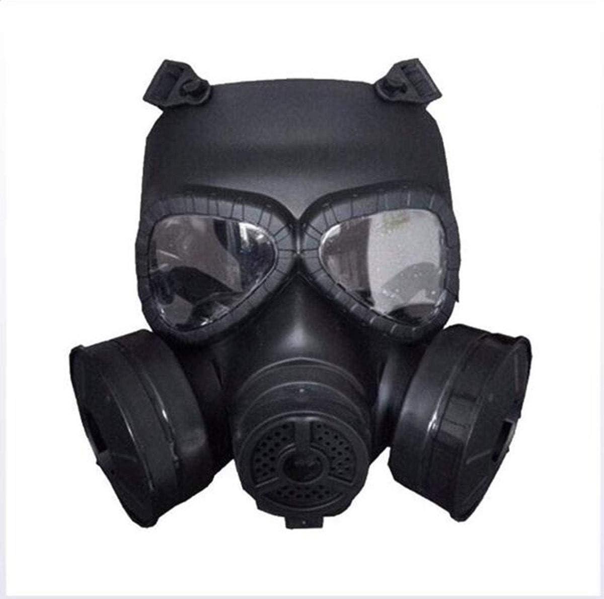 Hyl Máscara de Gas, protección Completa de 360 °, protección de Sellado Completo, ampliamente Utilizada en Pintura de Repuesto, carpintería, protección contra el Polvo
