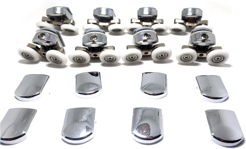 Fijaciones para mampara de ducha de 4-6 mm (4 para parte superior ...