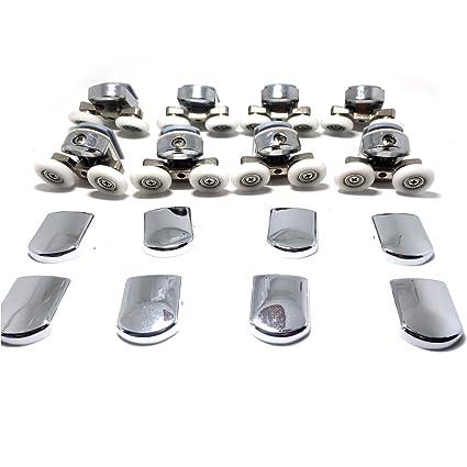 Fijaciones para mampara de ducha de 4-6mm (4 para parte superior