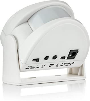 Wireless Motion Sensor Door Bell Alert Chime Radio frequency Anti-interference
