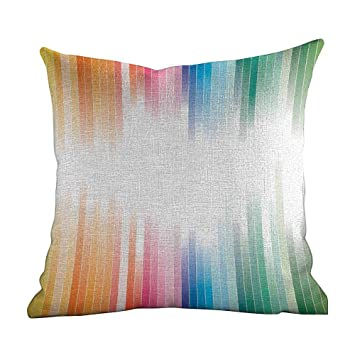 Amazon.com: Matt Flowe - Funda de almohada moderna abstracta ...