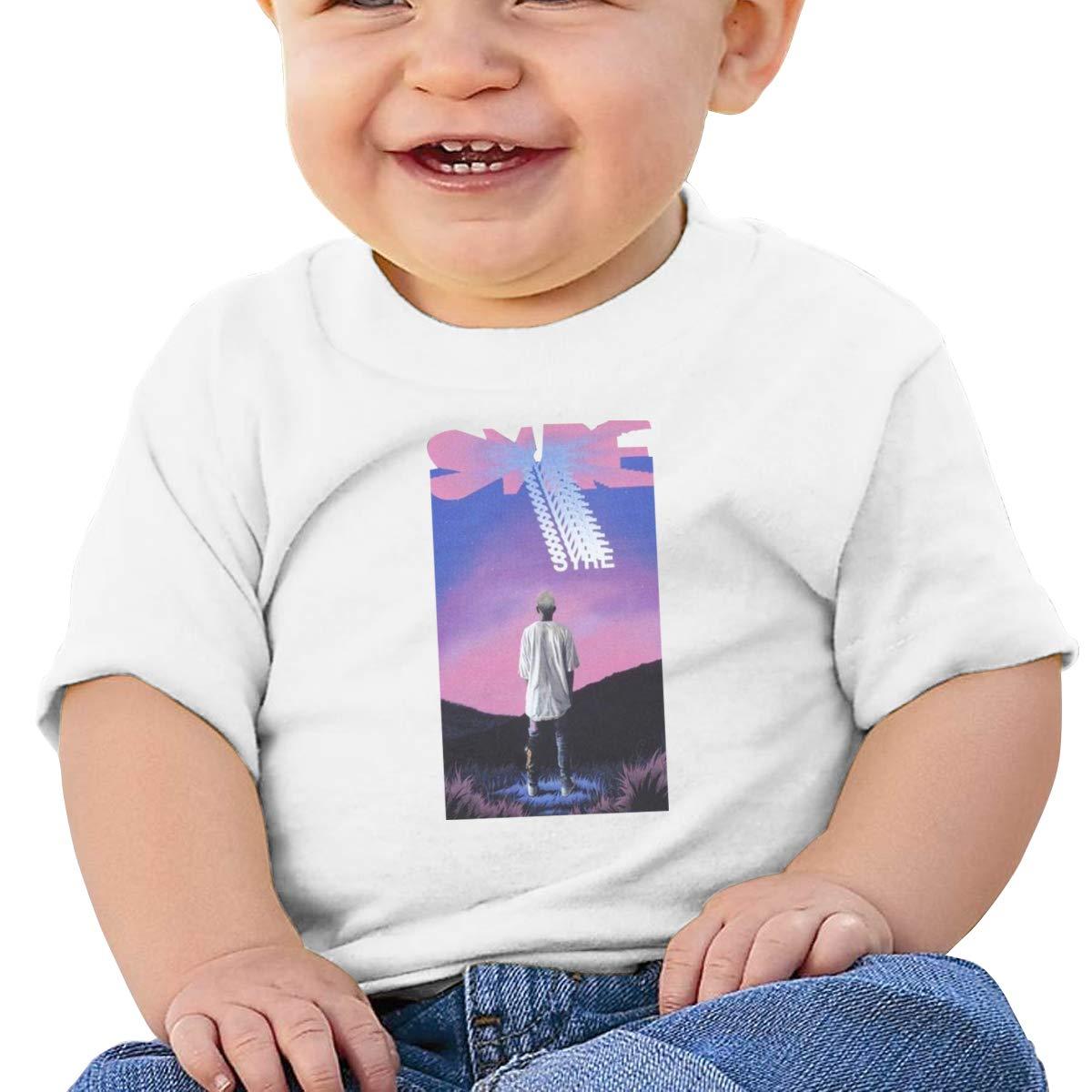 Kangtians Baby Syre Jaden Short Sleeve Shirt Toddler Tee