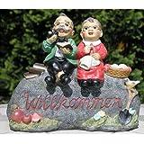 Oma Und Opa Auf Bank Für Den Garten Xxxl Amazonde Küche Haushalt