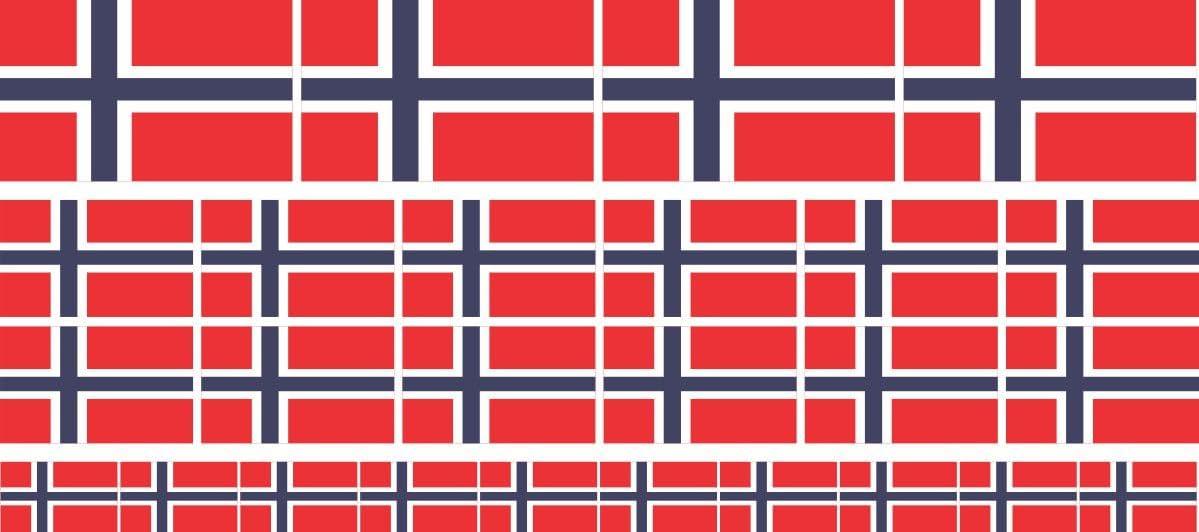 Mini Aufkleber Set Pack Glatt 4x 51x31mm 12x 33x20mm 10x 20x12mm Sticker Norwegen Flagge Banner Standarte Fürs Auto Büro Zu Hause Und Die Schule Set Of 26 Bürobedarf Schreibwaren