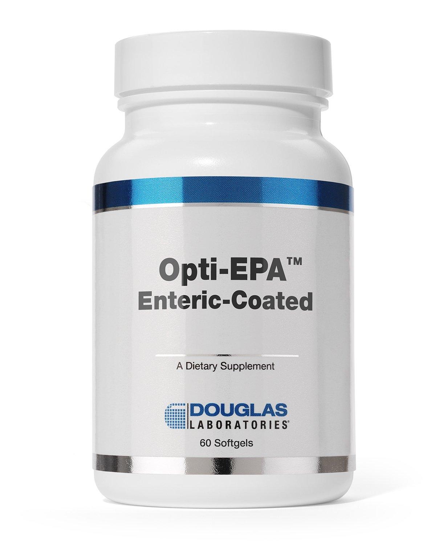 Douglas Laboratories - Opti-EPA - Omega-3 Fatty Acids to Support Cardiovascular and Neurological Health* - Enteric Coated - 60 Softgels by Douglas Laboratories