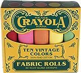Confetti Cottons Vintage Crayola Box 10 Fat