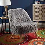 Cheap Soho Glam Faux Fur Chair – Shaggy Faux Fur Accent Chair – Faux Sheepskin Chair
