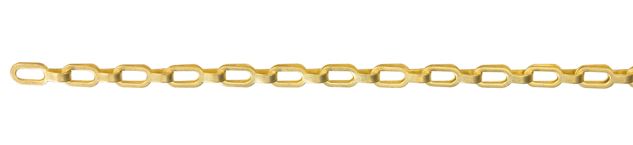 KingChain 502895 Solid Brass SAFETY Plumber Chain by KingChain