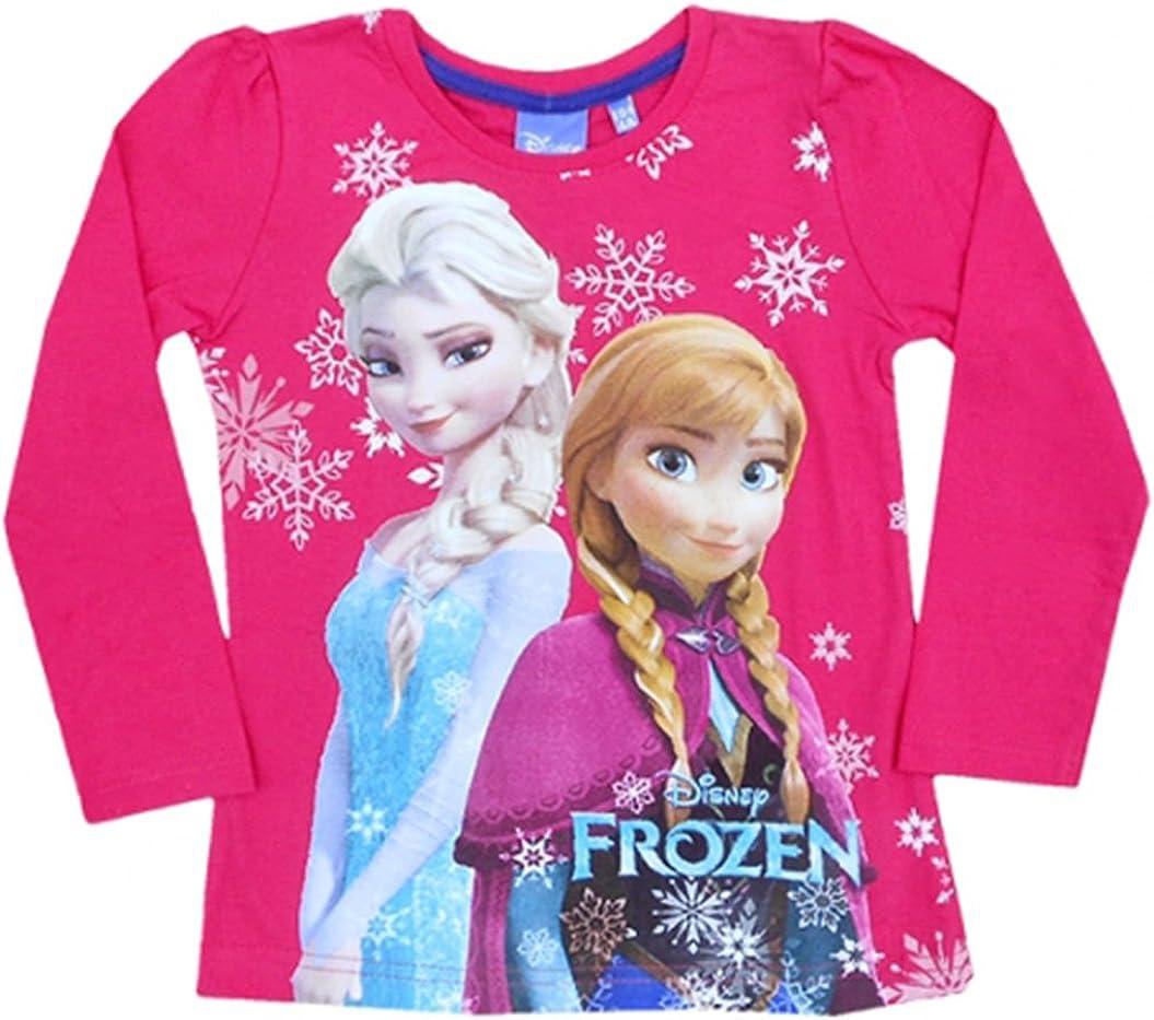 Frozen - Die Eiskönigin - Camiseta de manga larga - para niña ...