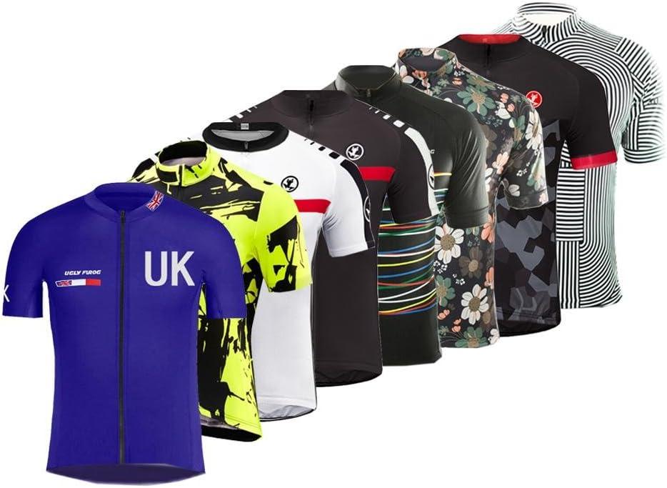 3D Gel Pad BIB Shorts Road Bike Clothing DX11 Uglyfrog 2019 New Summer Mens Short Sleeves Cycling Jerseys